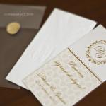 """Envelope com lencinho """"lágrimas de alegria"""" personalizado."""