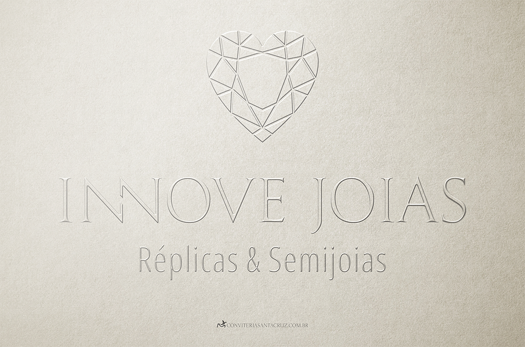 Identidade visual corporativa: Innove Joias.
