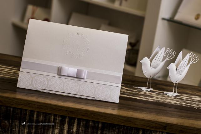 Convite de casamento com cristal Swarovski e totalmente personalizado (10)