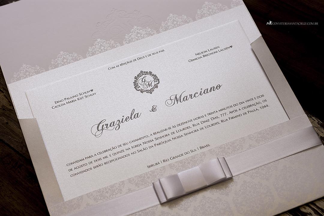 Convite de casamento com cristal Swarovski e totalmente personalizado (9)