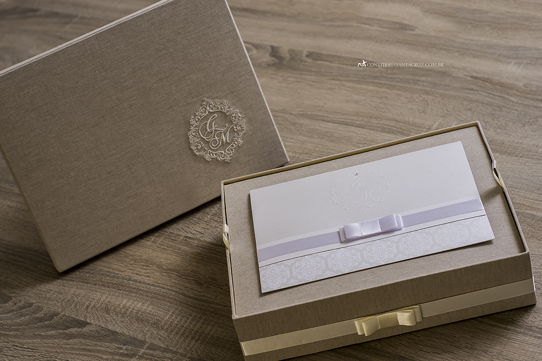 Caixas personalizadas para padrinhos.