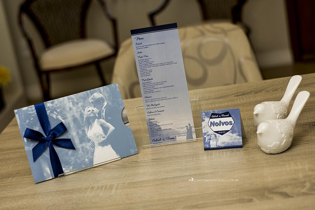 Convite de casamento com foto jovial, moderno e elegante (11)