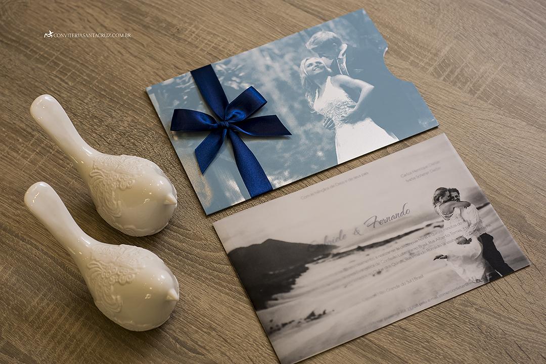 Convite de casamento com foto jovial, moderno e elegante (5)