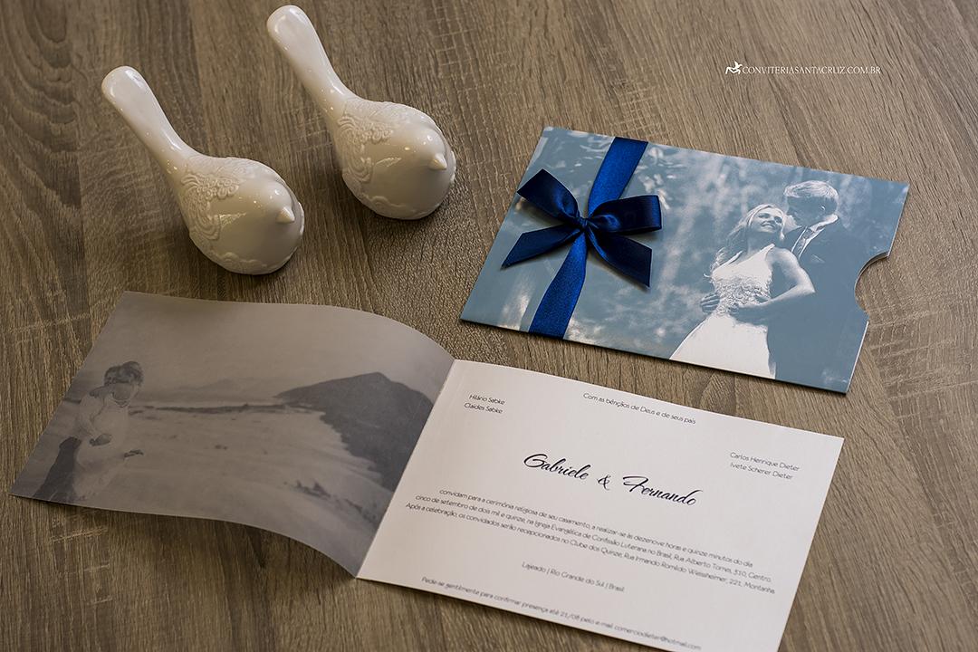 Convite de casamento com foto jovial, moderno e elegante (7)