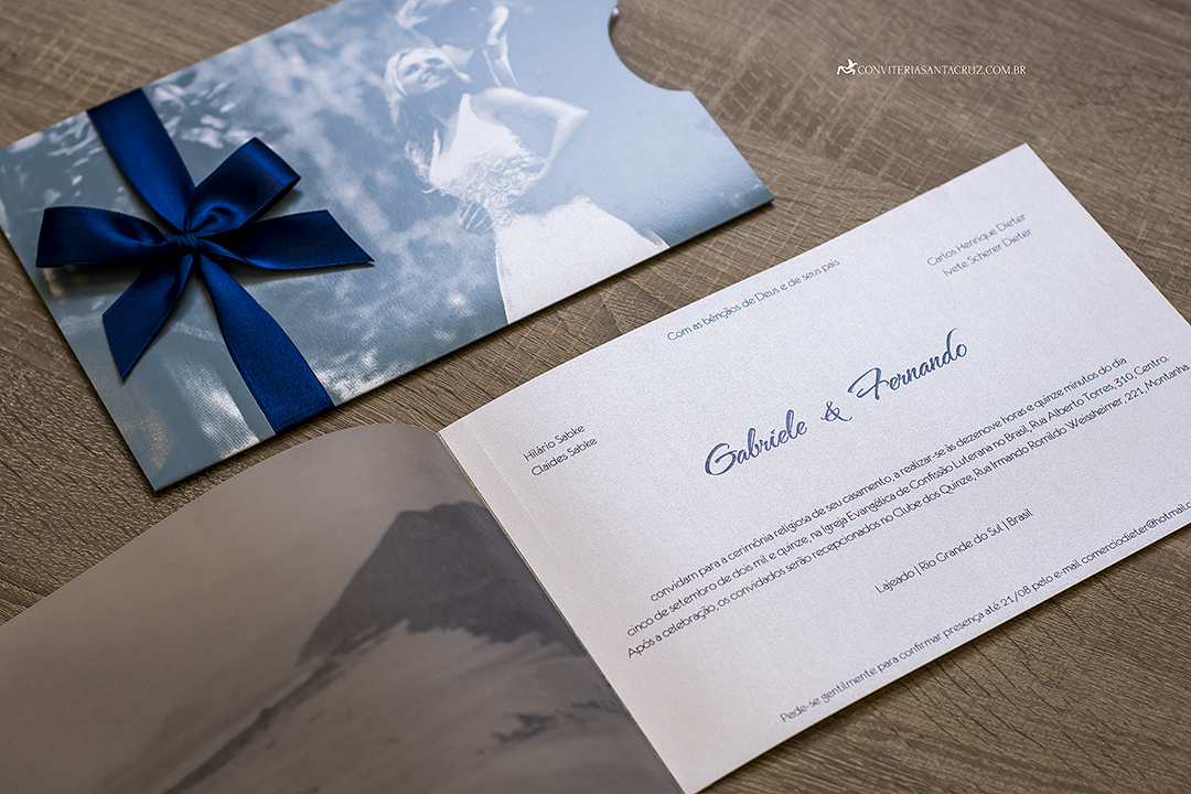 Convite de casamento com foto jovial, moderno e elegante (8)