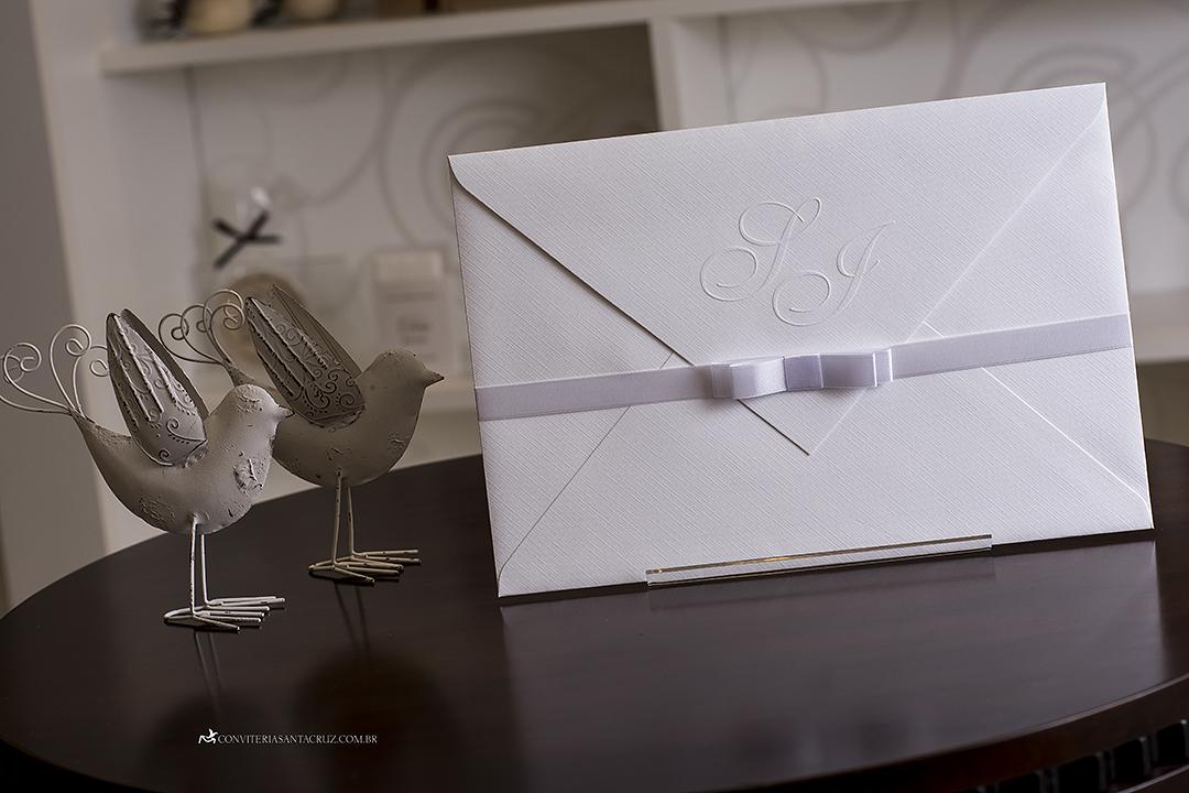 Convite de casamento simples, chique e elegante. (2)