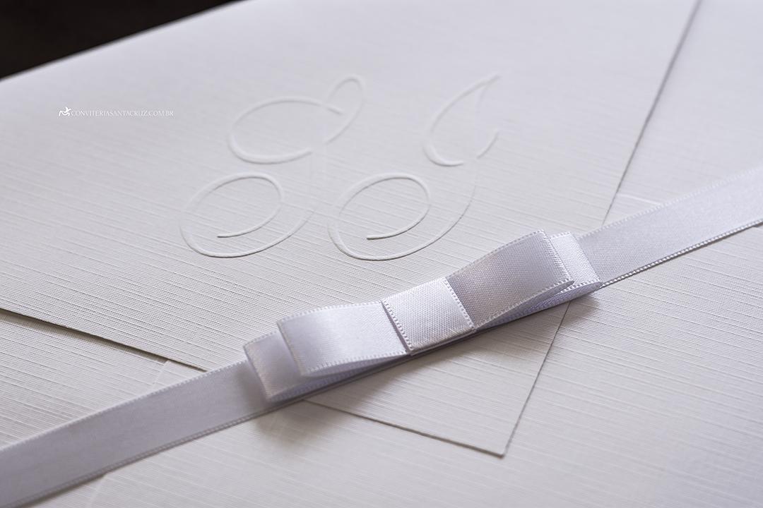 Convite de casamento simples, chique e elegante. (3)