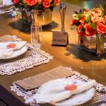 Convite e papelaria de casamento rústico-chique. (18)