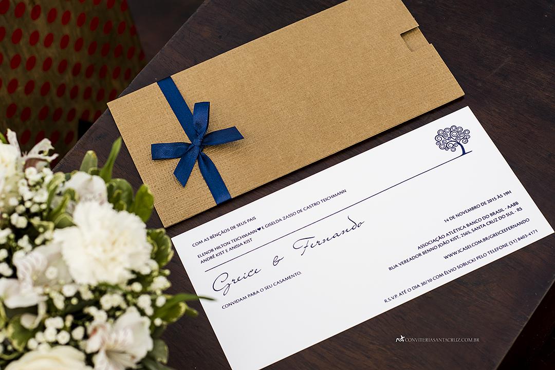 Convite e papelaria de casamento rústico-chique. (7)