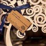 Convite e papelaria de casamento rústico-chique. (8)